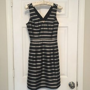 nwt j.crew striped dress